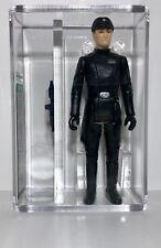 1980 Kenner Star Wars Imperial Commander Flesh Face AFA Graded 85 Archival! WOW!