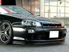 FRP Fiber Front Bumper Under Lip Panel Kit For Nissan Skyline R34 GTT D1 Type