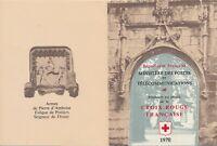 FRANCE 1970 CROIX-ROUGE FRANCAISE STAMP BOOKLET • MNH OG • PRISTINE