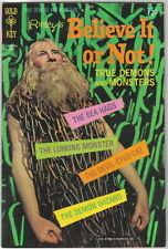 Ripley's Believe It or Not! Comic Book #19 Gold Key 1970 FINE+