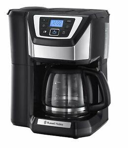 RUSSELL HOBBS Kaffeemaschine mit Mahlwerk Victory Grind & Brew 22000-56 1025W
