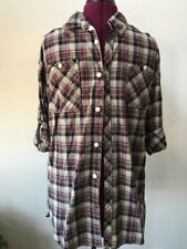 Mens Soctch And Soda Plaid L/S Shirt XL
