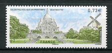 France 2017 MNH Montmartre Salon de Printemps 1v Set Windmills Tourism Stamps
