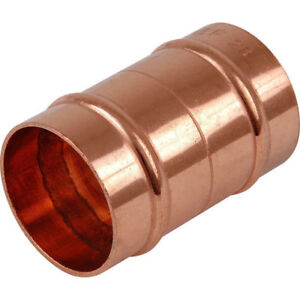 COPPER SOLDER RING CONNECTORS 15MM YORKSHIRE TYPE FREE POSTAGE PLUMBING JOB LOT