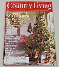 Country Living Magazine December 1997 Christmas To Remember
