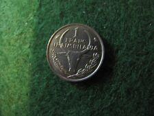 Malagasy Madagascar 1 Franc 1965 Unc Condition Rare