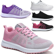Women Sneakers Breathable Mesh Sports Casual Shoes Running Light Bottom Shoes