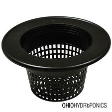 """10 Pack 8"""" inch Mesh Net Pot Lid for 3-5 GALLON BUCKETS GRO1 NOT SNAP FIT"""