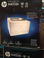 BRAND NEW - HP Color LaserJet Pro M452dn Laser Printer - 28ppm, Ethernet, Duplex