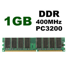 1GB DDR400 PC3200U Non-ECC Memory RAM For Desktop PC CPU 184-pin Low Density New