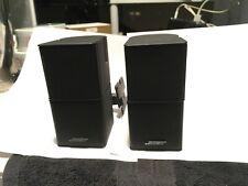 Set of Bose Jewel Double Cube Premium Speakers Good Condition Black