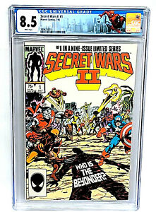 Secret Wars II #1 CGC 8.5 (1985) Marvel Comics