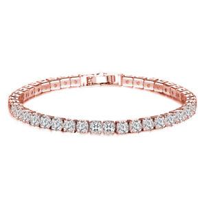 Charm 925 Silver Round Emerald Zircon Bangle Bracelet Women Jewelry Wholesale