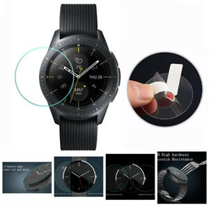 Round Universal Smart Watch Tempered Glass Screen Protector Film 30-42mm Clear