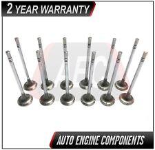 Exhaust Valve Set Fits Chrysler Durango Avenger Jeep Wrangler 3.6L Set (12)
