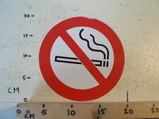 STICKER,DECAL NIET ROKEN ROKEN VERBODEN  LARGE