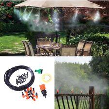 5m Hose Water Drip Sprinkler Irrigation System Kit For Greenhouse Outdoor Garden