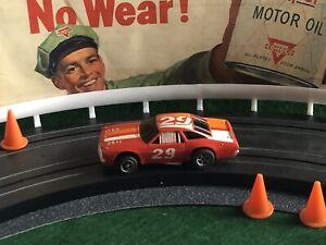 Vintage NASCAR RACER Aurora AFX Racing Slot Car T-JET MoDeL MoToRing
