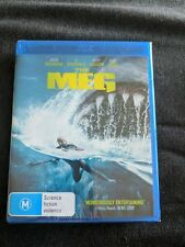 The Meg (Blu-ray, 2018) Region B ***BRAND NEW & SEALED***