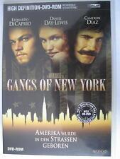 GANGS OF NEW YORK - DVD - HD EDITION - LEONARDO DICAPRIO CAMERON DIAZ