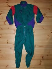 NIKE VINTAGE TRACKSUIT SIZE M/L 1990s JACKET BOTTOMS PANTS FANCY (j201d)