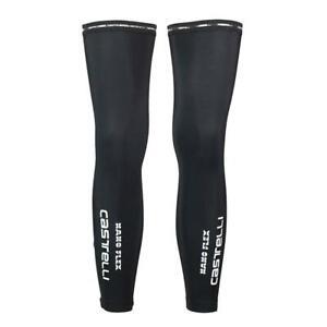 Castelli Nano Flex Leg Warmer in Black Size Medium