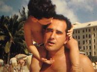 16mm FILM  1948 HOME MOVIE   Trip to WAIKIKI BEACH     HONOLULU HAWAII