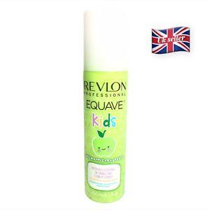 NEW REVLON kids hypoallergenic detangling conditioner spray apple fragrance
