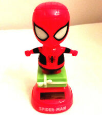 Marvel Spider-Man Solar Bobble-Head Dancing Desk Toy, Car dashboard decor