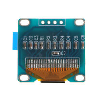 "0.96"" I2C IIC Serial 128X64 128*64 Blue OLED LCD LED Display Module for Arduino,"