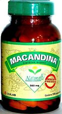 MACA HERBAL100% ORIGINAL PERU 120TABx500MG INFERTILITY MEN/WOMEN NO HORMONES THS