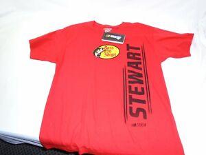 Tony Stewart #14 Tee Shirt LG Stewart-Hass racing NASCAR Racing Bass Pro Shops