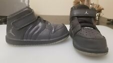 Infants Nike Jordan 1 Flight 4 Prem BT - 828244 013 - Grey Wolf grey Trainers 7c
