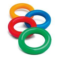 Ringe & Teller 2 Jonglierteller in der Farbe Neonpink inkl 2 Kunststoffstäben Kinder Freizeit