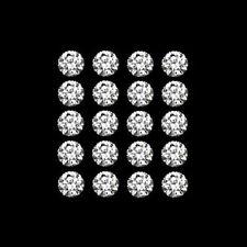 Gemas sueltas de zirconita o circonita color principal blanco sintético