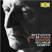 WILHELM KEMPFF BEETHOVEN 32 SONATAS 8 CD BOX NEW SEALED