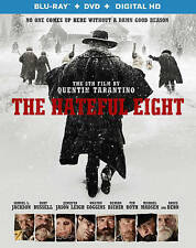 DVD: The Hateful Eight [Blu-ray], Quentin Tarantino. Acceptable Cond.: Tim Roth,