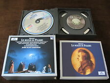 3 CD Box Mozart Le Nozze Di Figaro Gardiner 1994 Germany +Booklet
