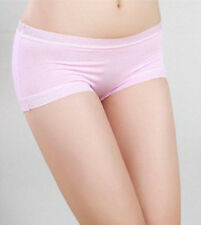 *New Arrival Women Satin Boy Shorts Lady Boxers Briefs Knickers Pantie Underwear