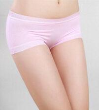 *New Arrival Women Satin Boy Shorts Lady Boxers Briefs Knickers Pantie Underwear