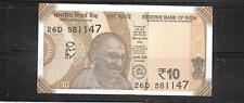 India 2018 10 Rupee New Mint Unc Currency Banknote Bill Note Paper Money
