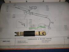 PUNTONE SX FRENO A MANO COMPLETO FIAT 500 N/D/F/L/R 126 1°S FIAT 4044515