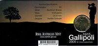 2005 Gallipoli 90th Anniversary $1 Coin - Canberra 'C' Mintmark