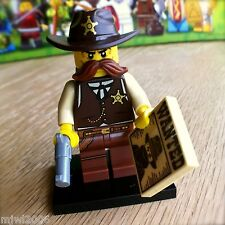 LEGO 71008 Minifigures SHERIFF #2 Series 13 NEW SEALED Minifig Wanted Cowboy Hat