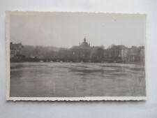 """Photo ancienne """"Meaux - Vieux pont - Décembre 1944"""""""