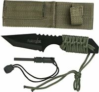 """Survivor HK-106320 Outdoor Fixed Blade Knife 7"""" Overall, Colors may vary"""