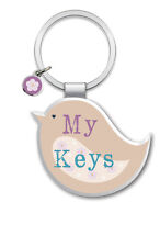 My Keys Little Wishes Metallic Keyring Lovely Birthday Christmas Gift Idea