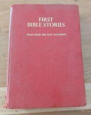 First Bible stories hardback book vintage