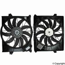One New Genuine Engine Cooling Fan Assembly 1645000093 for Mercedes MB