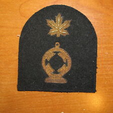 Royal Canadian Navy Trade Badge Electricians Mate GOLD